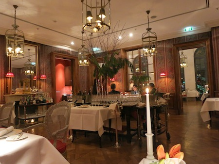 Food Travelist Francais Restaurant Frankfurt Germany Beautiful Decor