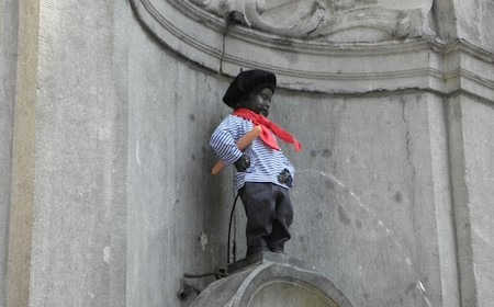 Food Travelist Manneken-Pis Costume