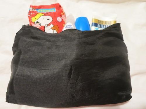 Little Black Travel Bag
