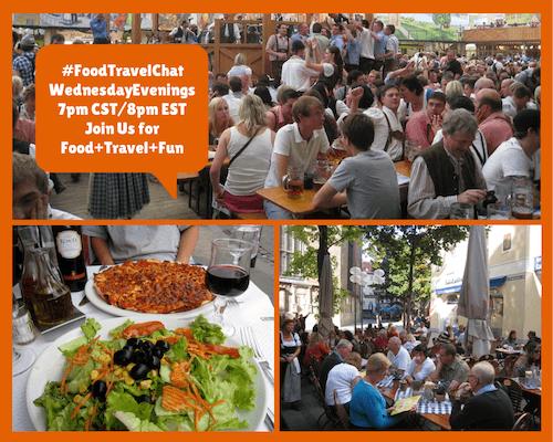 #FoodTravelChatWednesdayEvenings7pm
