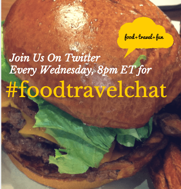 Food Travel Chat #Foodtravelchat