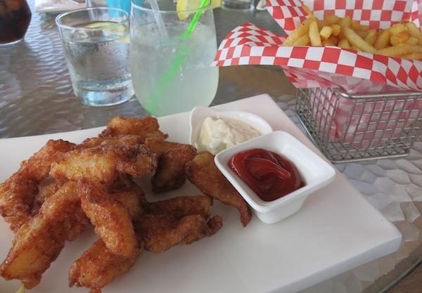 Fish And Chips at Chrishi Beach