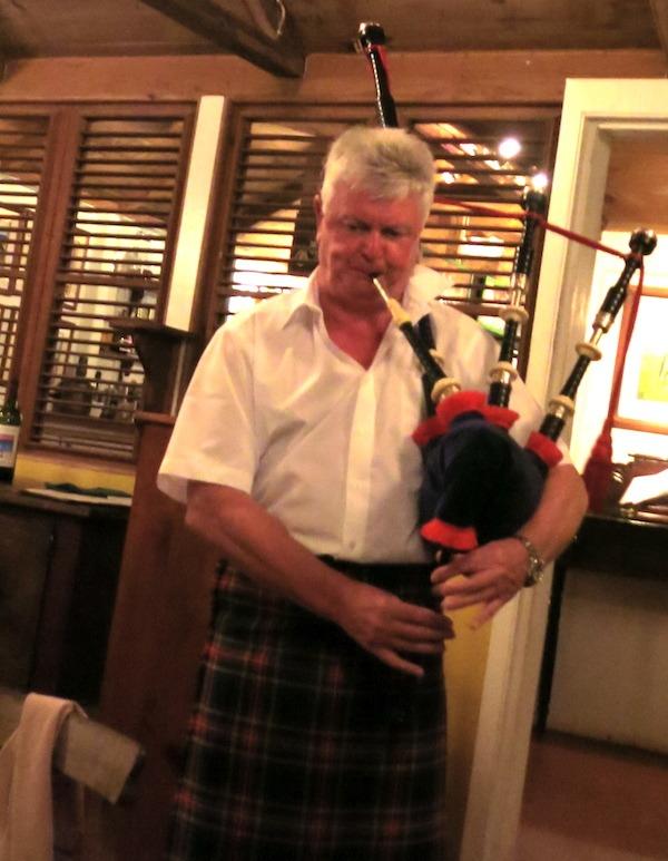 Bob the bagpiper.
