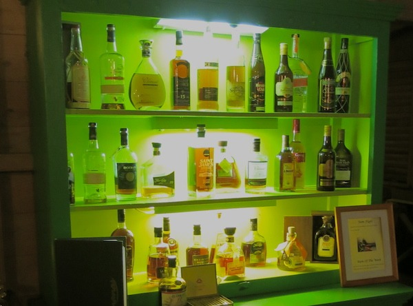 The rum selection at Banana's is incomparable!