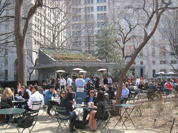 Shake Shack in Madison Square Park NYC