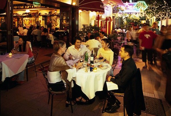Outdoor Dining in Hong Kong