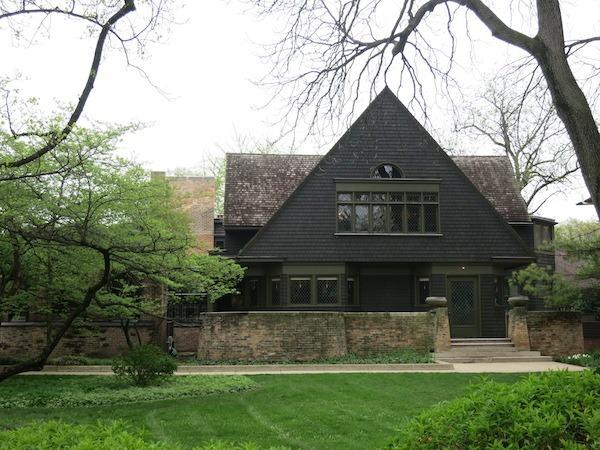 Frank Lloyd Write Home Studio In Oak Park