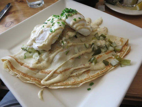 Crepes Monsieur at Storyhill BKC in Milwaukee, Wisconsin