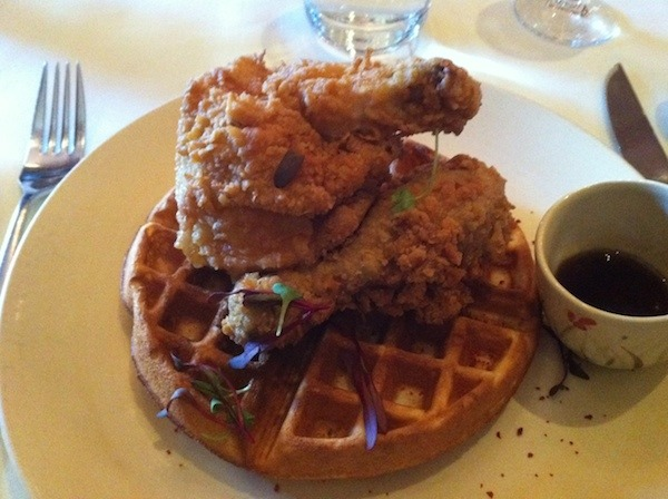 Art Smith's Table 52 Chicken And Waffles in Chicago