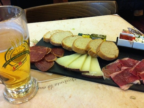 Tapas-and-Beer-in-Spain