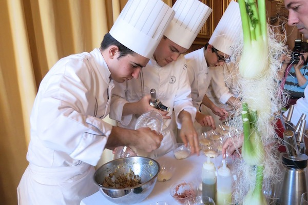 Delicious Paris Chefs Creating Food