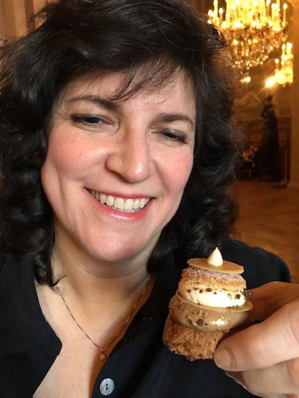 Diana Laskaris Enjoying Delicious Paris