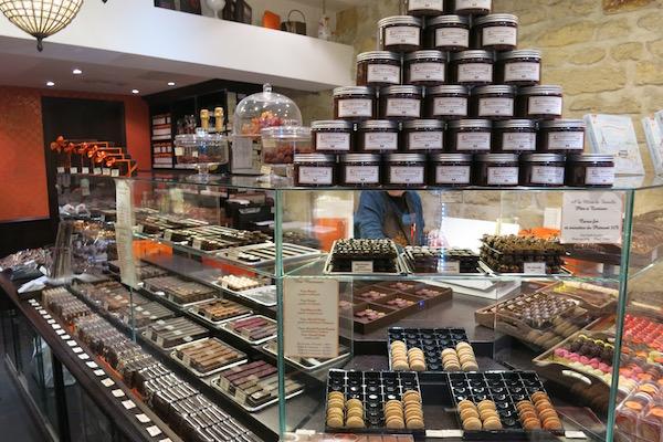 Chocolate Shop on Paris Walking tour