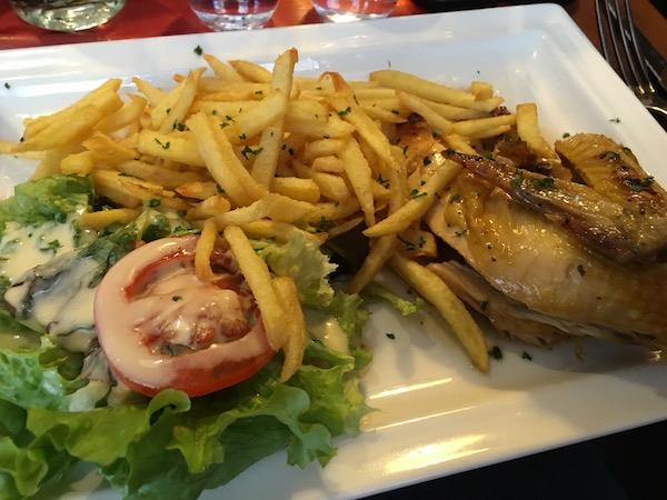 Le Monte Carlo Brasserie Poulet Frites