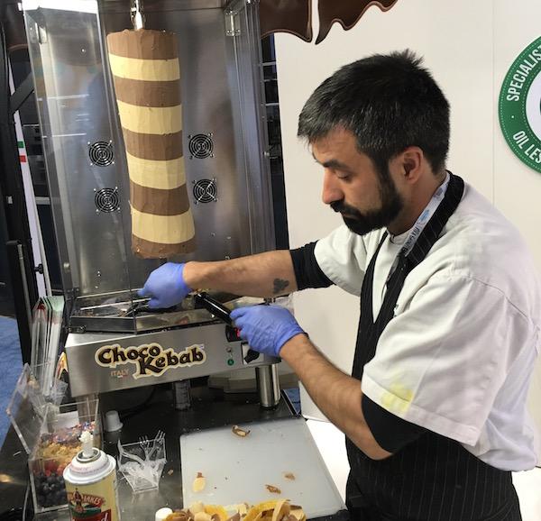 Choco Kebab National Restaurant Show 2016