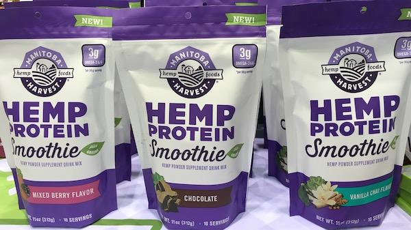 Manitoba Harvest Hemp Protein Smoothie Mix National Restaurant Show 2016
