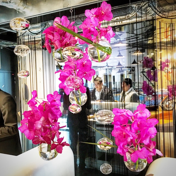 Hotel Moliter Lobby Orchids Paris