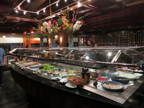 Fogo de Chao Market Table