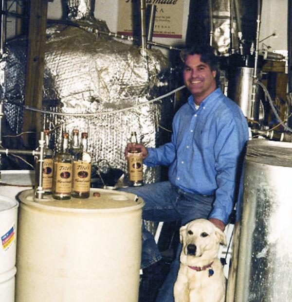 Tito Beveridge - yes there is a Tito! Tito's Vodka
