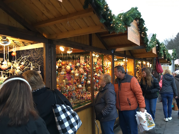 Christkindlmarket in Naperville Christmastime in Chicago