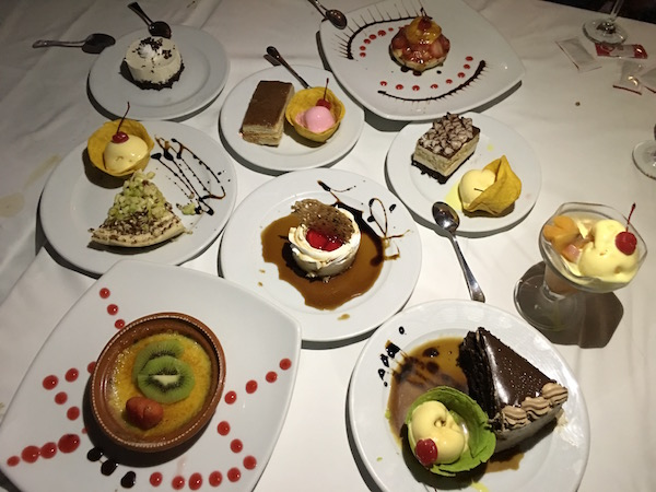 Desserts Galore at El Cid Resort in Mazatlan