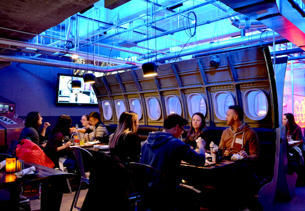 Spy Plane Dining