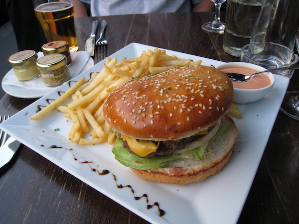 Burger in Paris