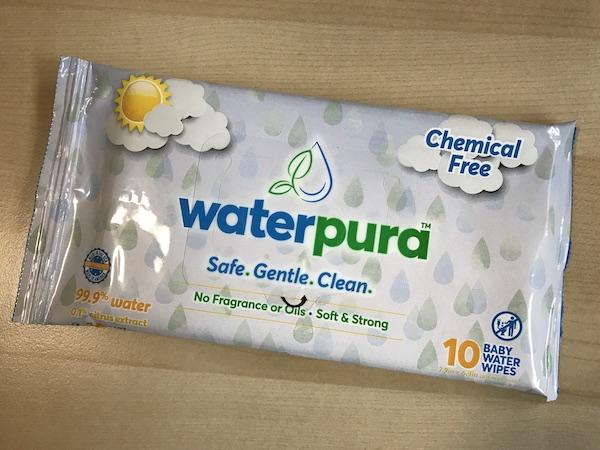 Waterpura Baby Water Wipes