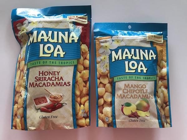 Mauna Loa Macadamias New Flavors