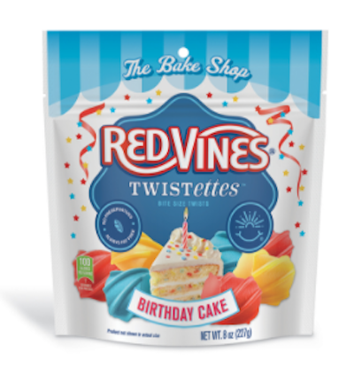 Red Vines Twistettes Birthday Cake