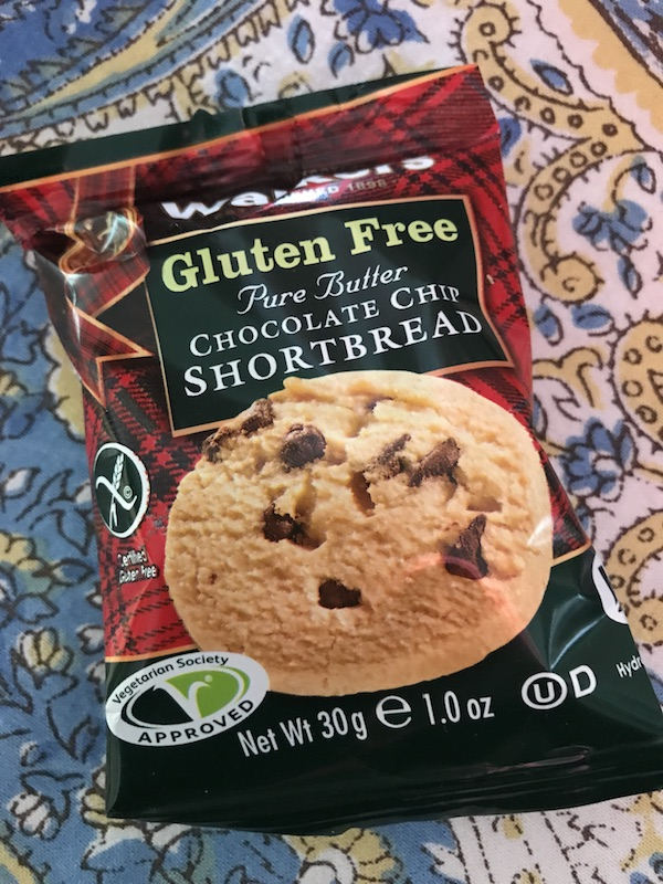 Walker's Gluten Free Chocolate Chip Shortbread