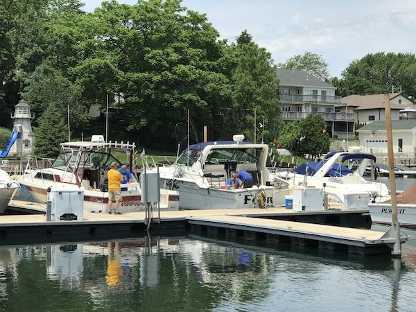Kenosha Fishing Dock