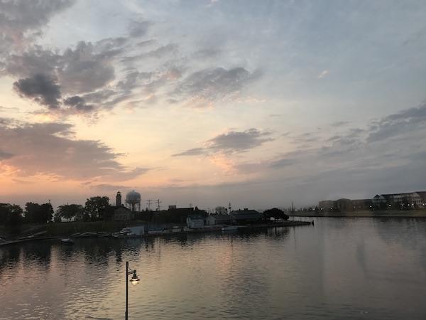 Sunrise in Kenosha