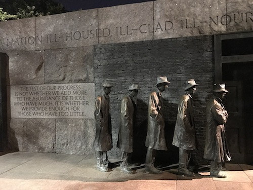Franklin Roosevelt Memorial Washington DC