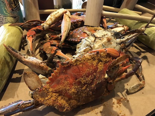 Blue Crabs in Maryland