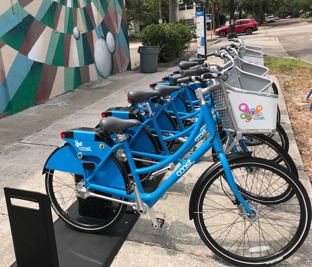 Coast Rental Bikes in St. Petersburg Florida