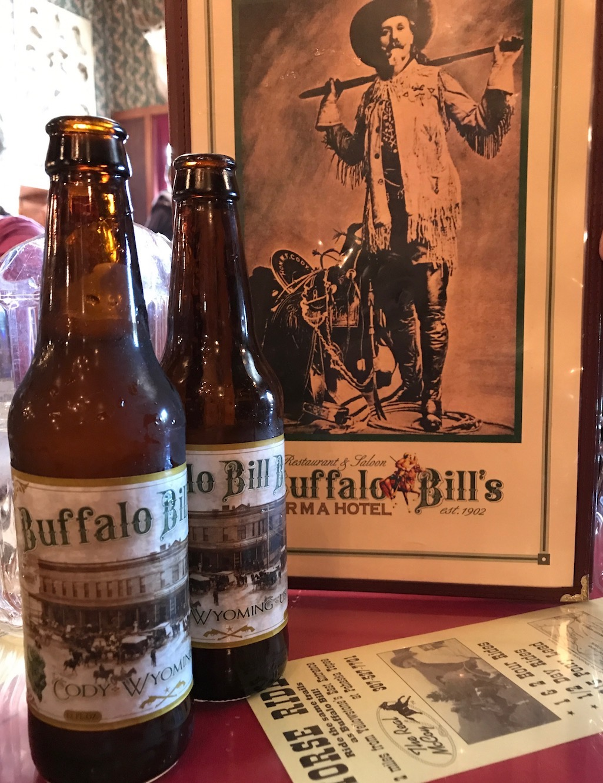 Cody Irma Bar and Restaurant Buffalo Bill Beer