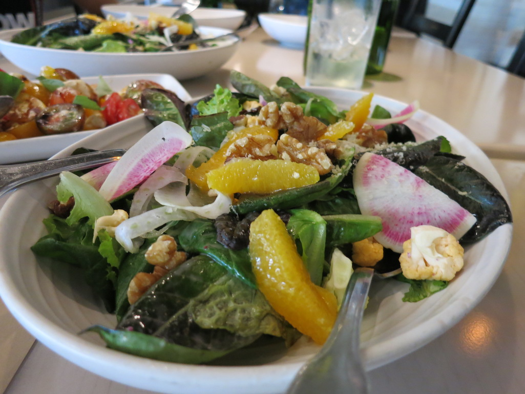 Fresh Salads at Locale Market in St. Petersburg Florida