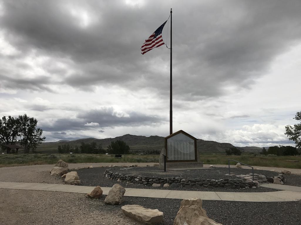 Heart Mountain Interpretive Center Cody Wyoming Monument