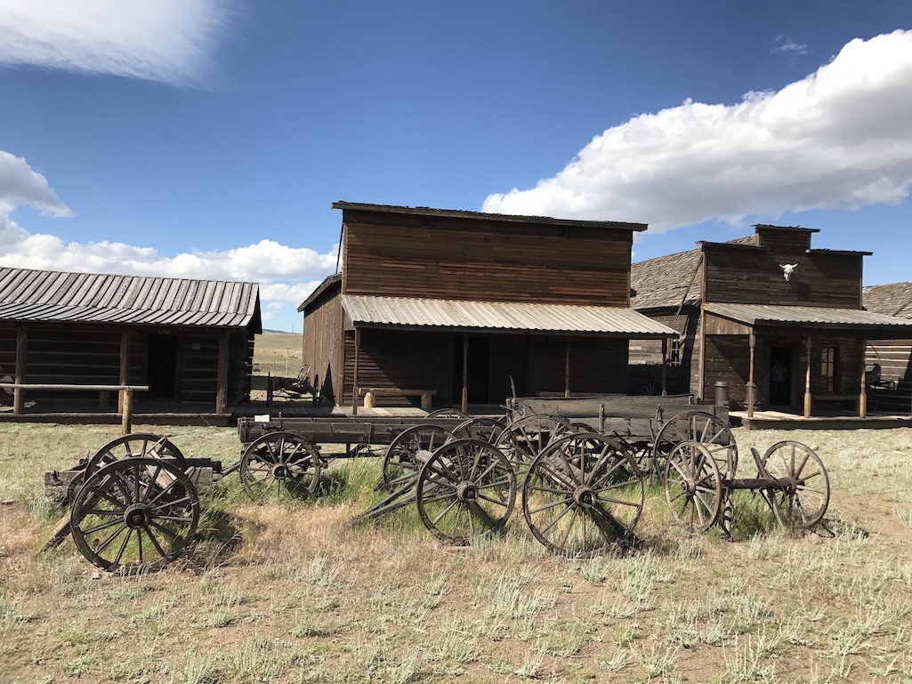 Old Trail Town in Cody Food Travelist