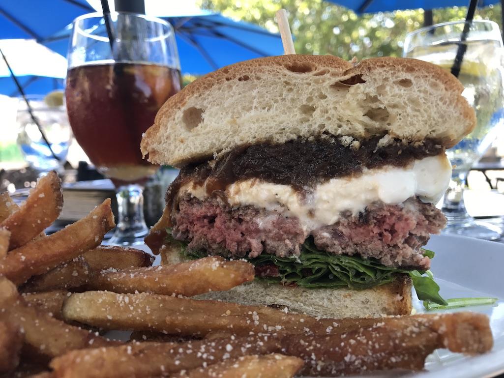 Park Shore Grill St. Petersburg Florida Burrata Burger