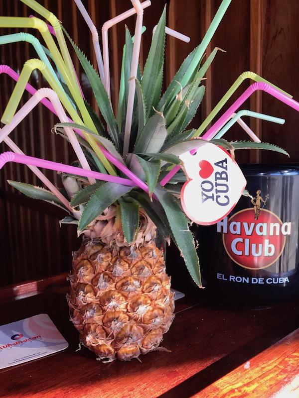 Pineapple in Cuba