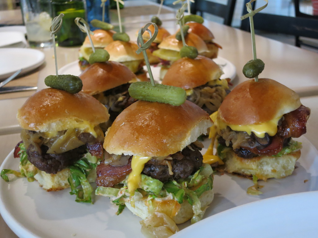 Sliders at The Locale in St. Petersburg Florida