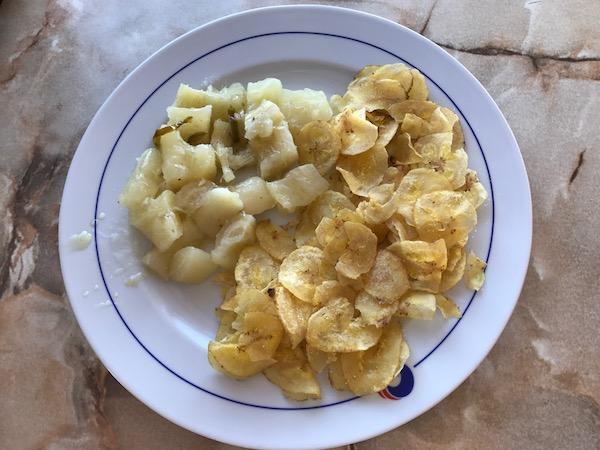 Snacks in Cuba
