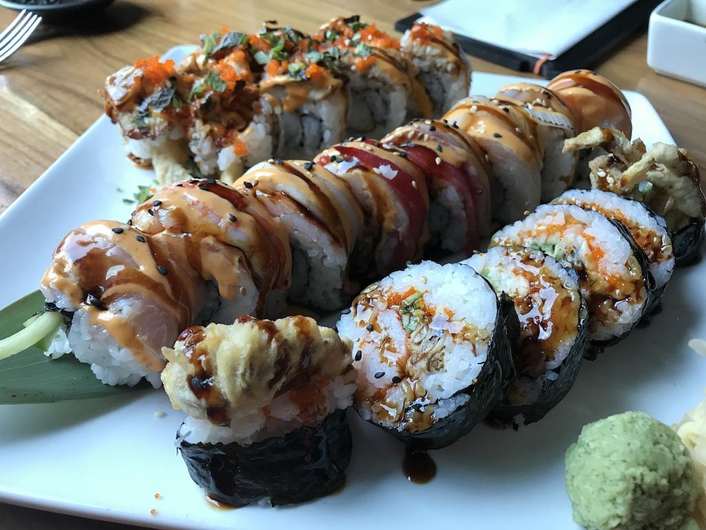Sushi Rolls SouZou St. Petersburg Florida