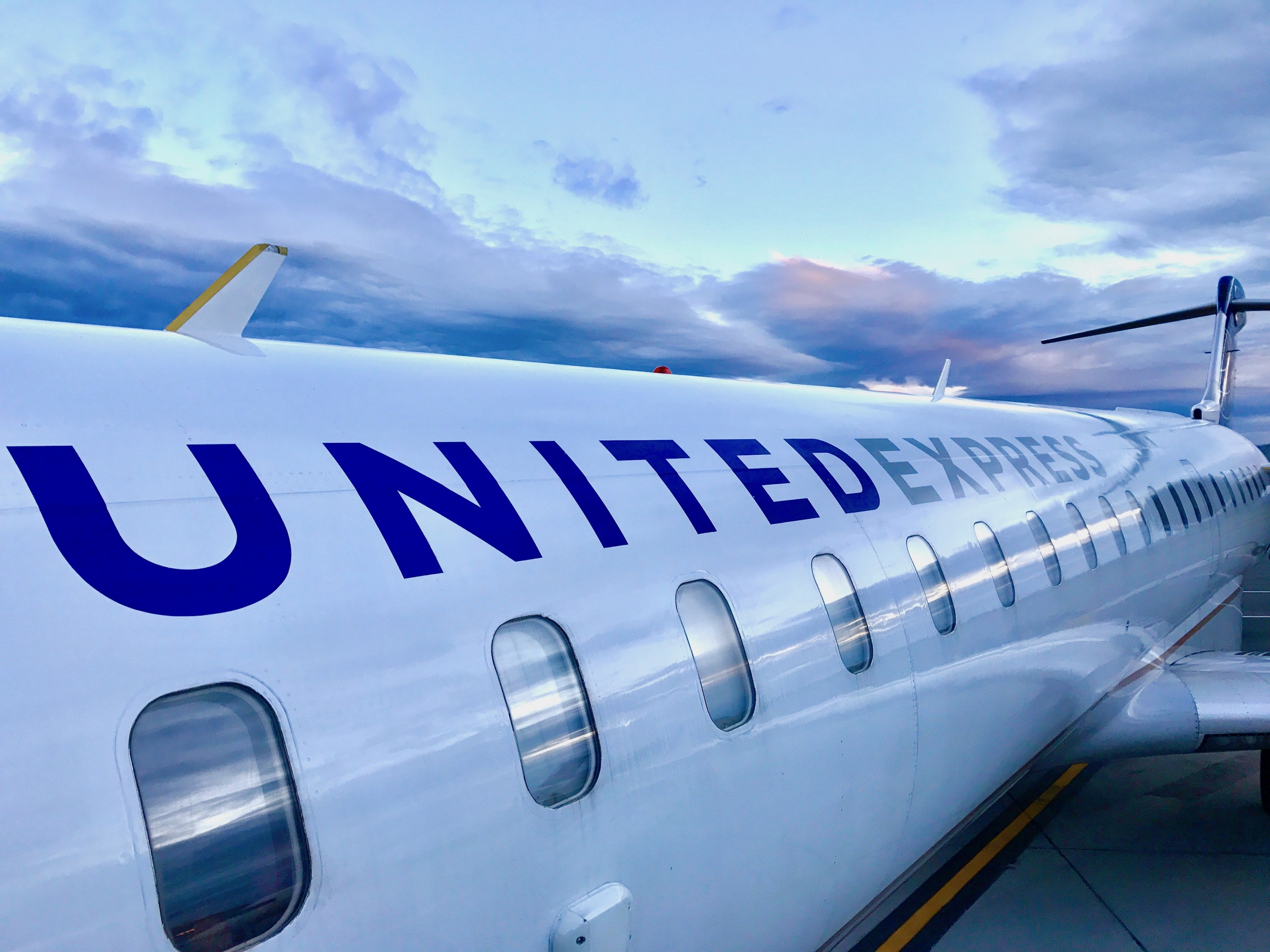 United Express to Cody from Chicago