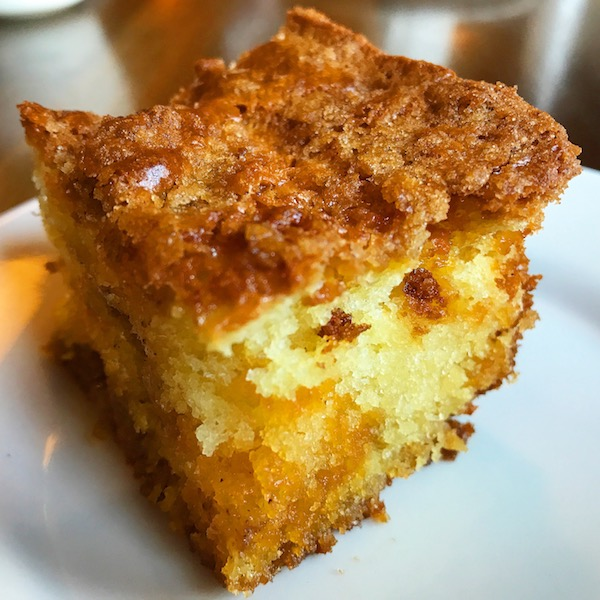 Housemade Coffee Cake At Chico Hot Springs