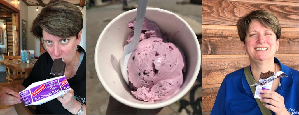 Wilcoxsons Huckleberry Ice Cream Montana
