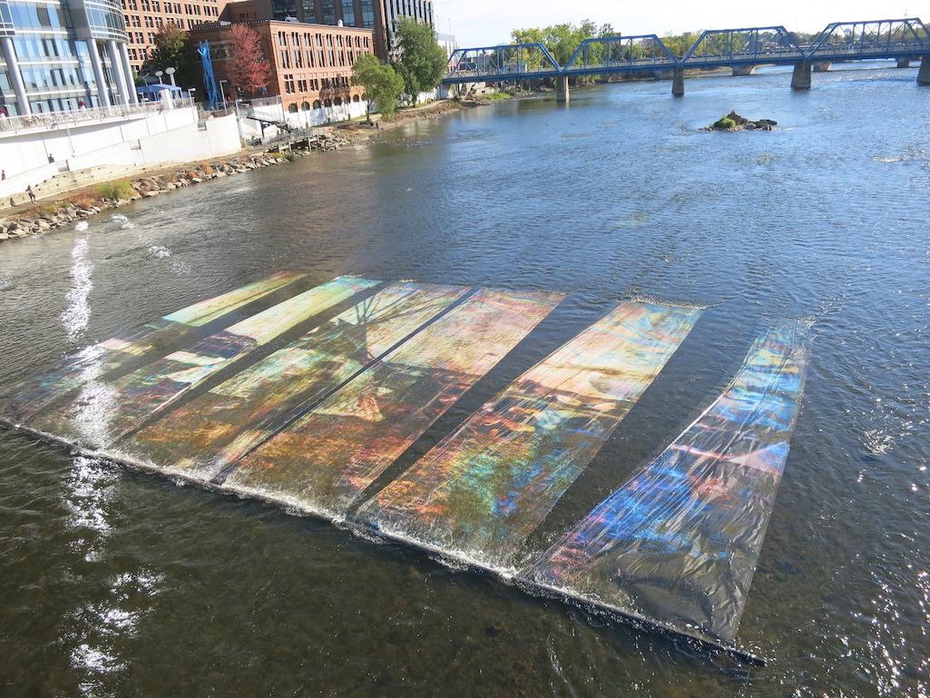 Art Prize Grand Rapids River Installation