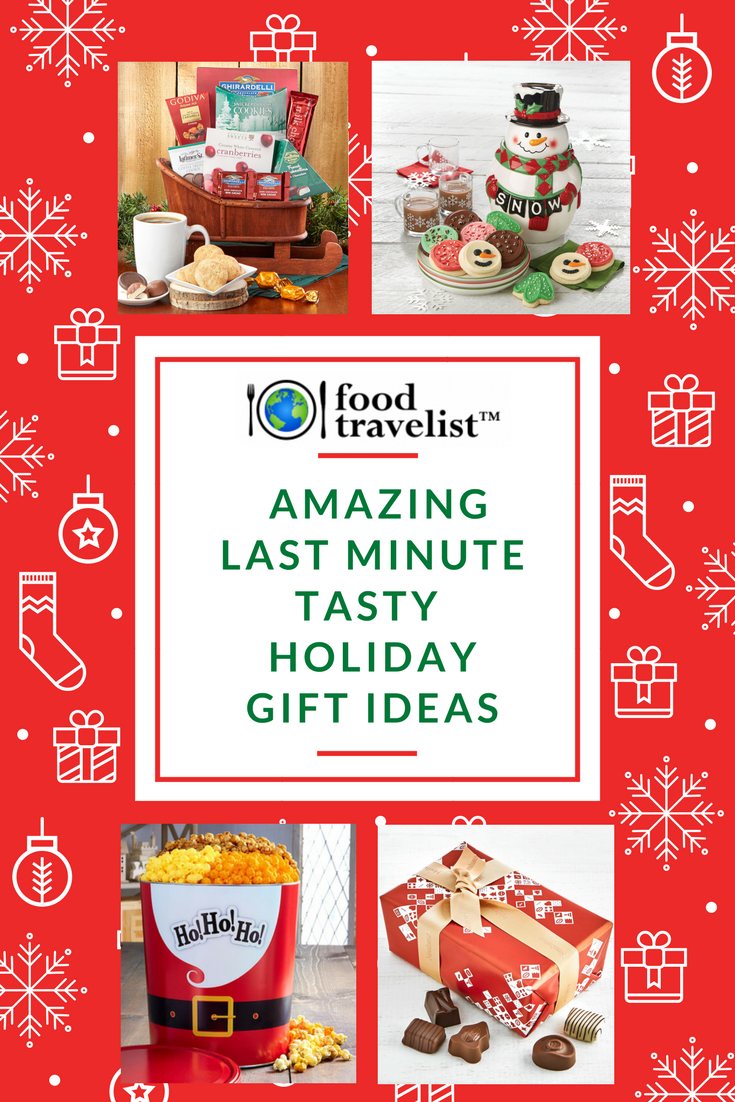 Amazing Last Minute Tasty Holiday Gifts You Need Now